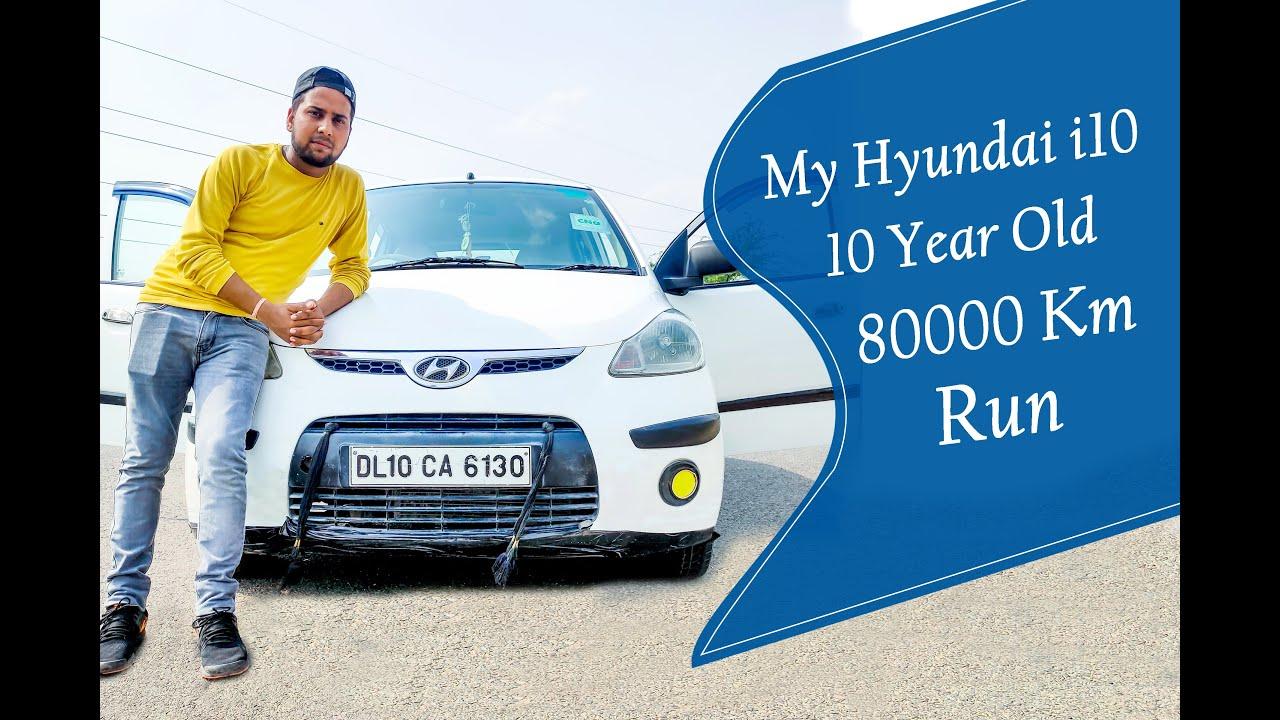 Download My Hyundai i10 Era 10 Year Old With 80000Km Run { i10 Hyundai Review After 10 Year }