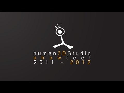 human3DStudios Showreel 2011 - 2012