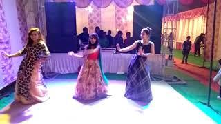 Sangeet performance by bridesmaids