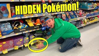 AMAZING SECRET RARE OPENING IN A HIDDEN POKEMON CARD HUNT! Search #61