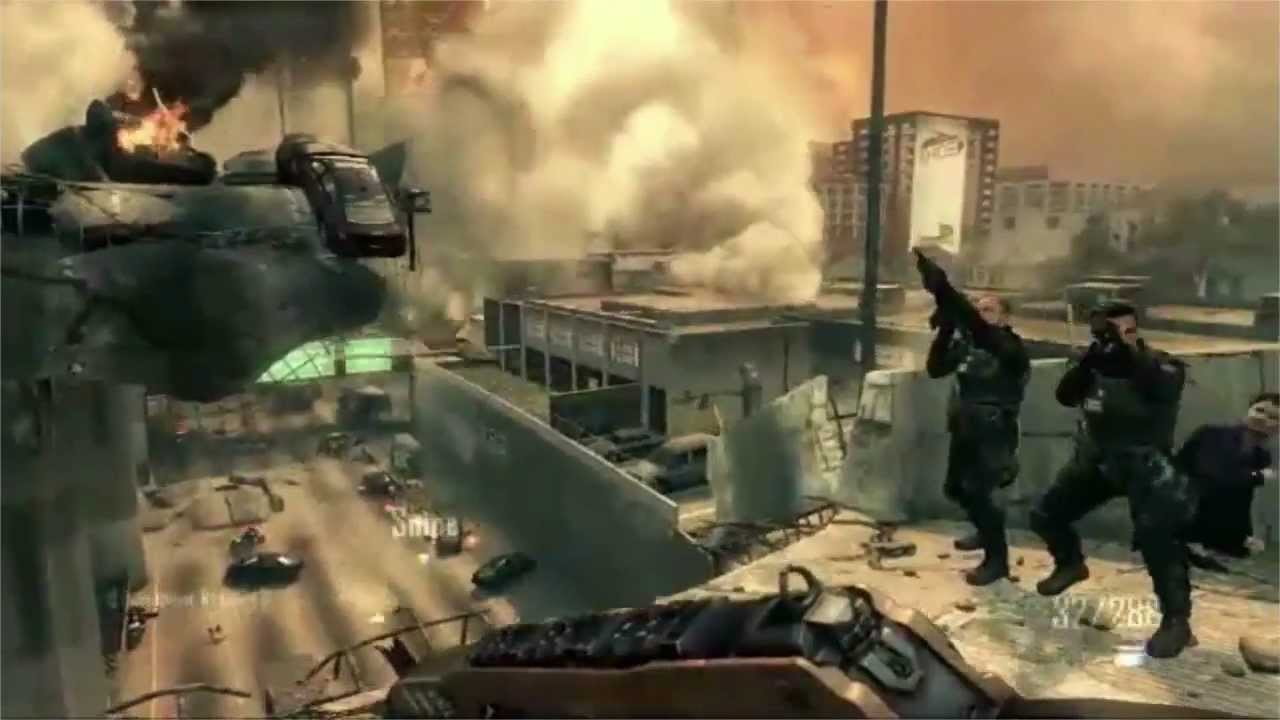 Call of Duty: Black Ops 2 - Gameplay COD BO2 - Oficial E3 2012 HD ...