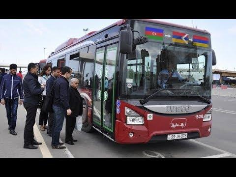 В Азербайджане опубликованы новые тарифы на проезд в Степанакерт и Ереван на автобусе :)