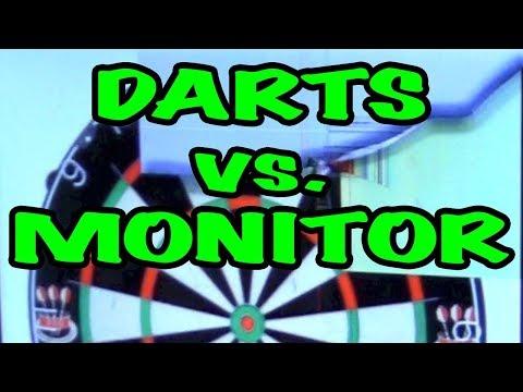 Use PC Monitor As A DART BOARD?