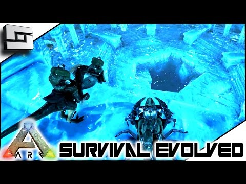 ARK: Survival Evolved - THE CENTER ICE CAVE! S4E30 ( The Center Map Gameplay )