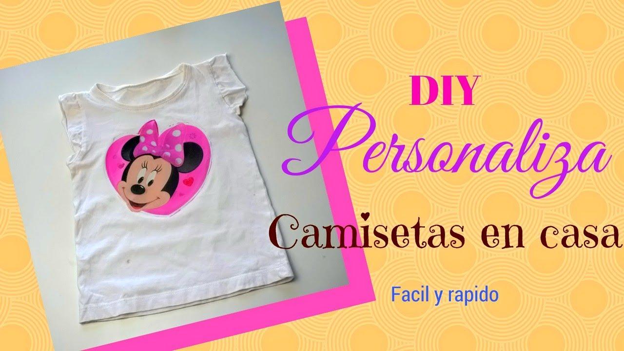 4dd6c2a2acad1 Como Estampar camisetas en casa super fácil y rápido ♥