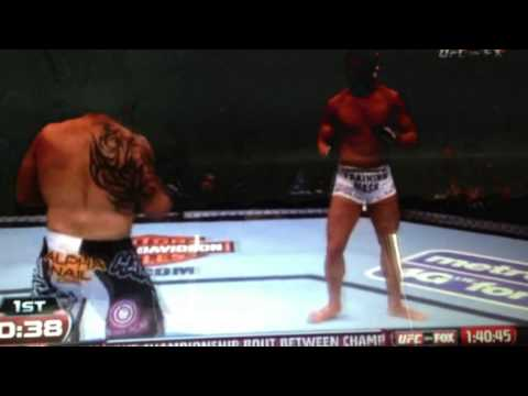 Daron Cruickshank use of Muay Thai in MMA (his last fight from UFC on Fox) short HL's