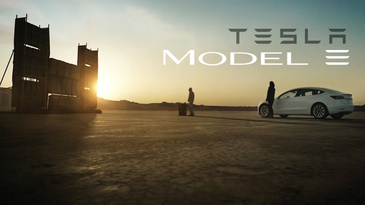 """TESLA Model 3 Commercial - """"Feel It"""" - YouTube"""