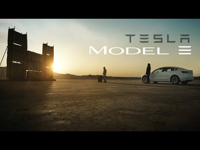 "TESLA Model 3 Commercial – ""Feel It"""