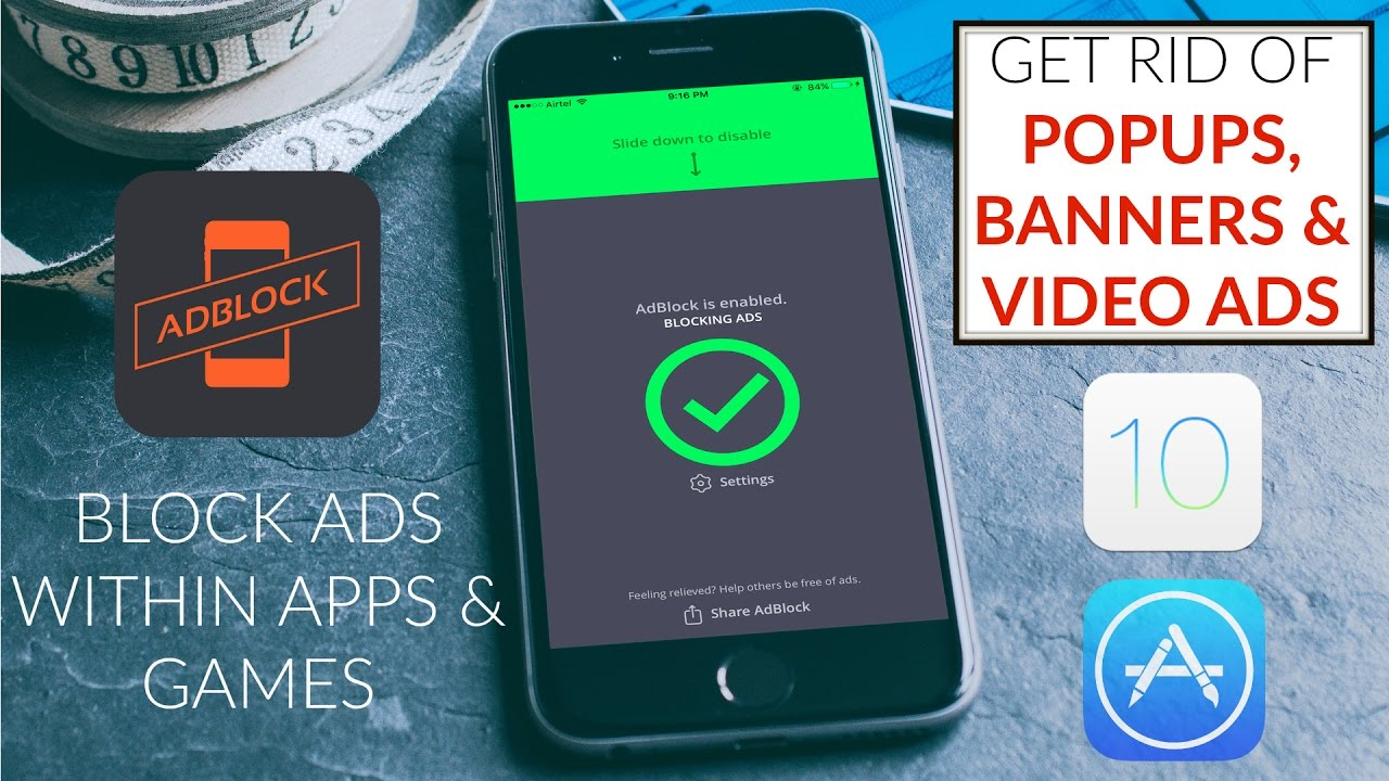 Install AdBlock on iOS 12 & 11 Block Popups, Banners & Video Ads on iOS  devices NO JAILBREAK !!