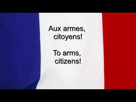 """""""La Marseillaise"""" - France National anthem French & English lyrics"""
