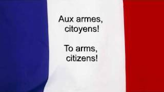 """La Marseillaise"" - France National anthem French & English lyrics"