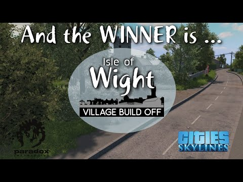Village Build Off Competition Result - Cities: Skylines With Rik4000