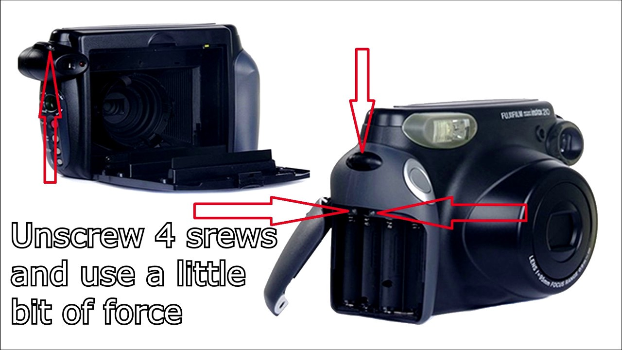How To Build A Timer For Polaroid Fujifilm Instax 210