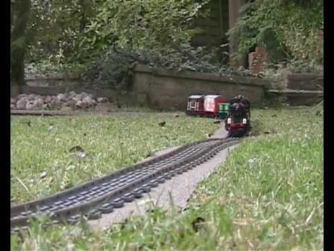 Lego Trains in the Garden 1