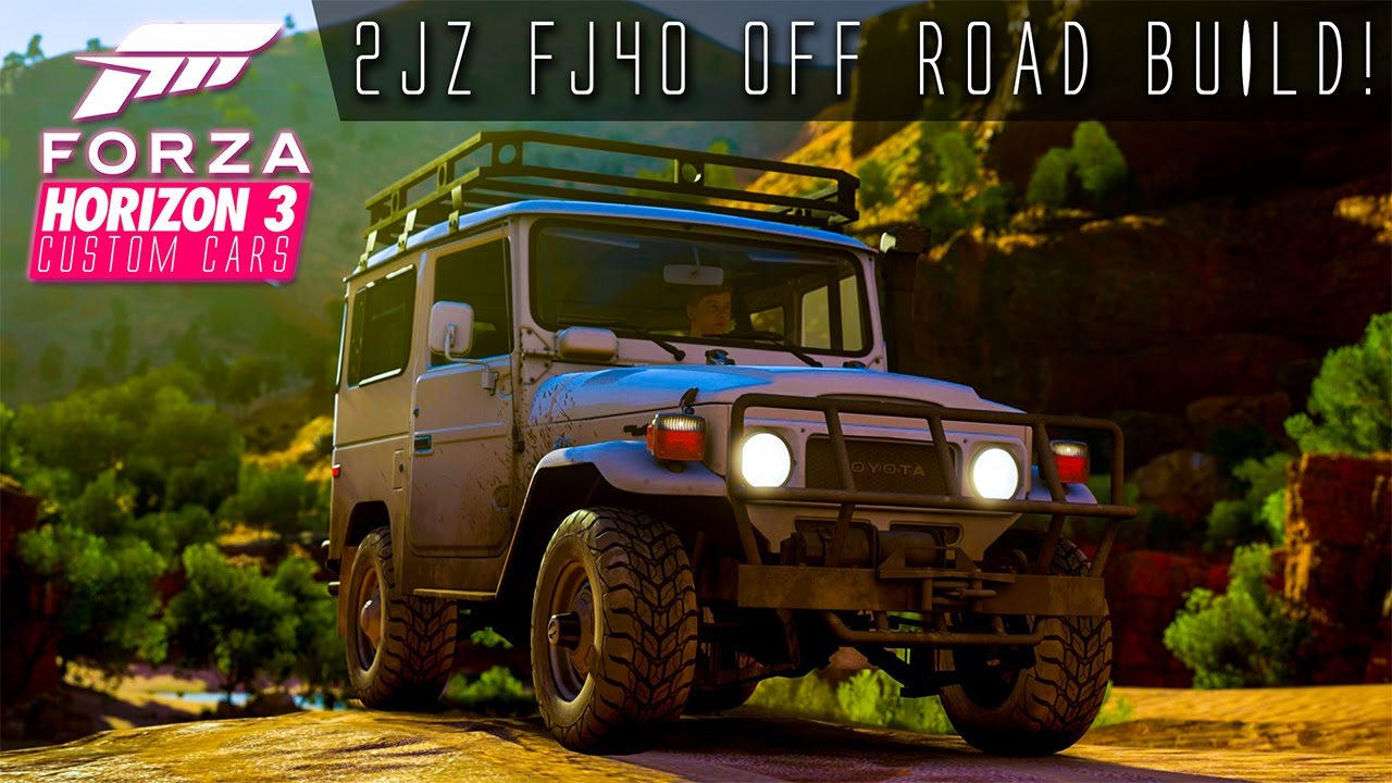 1005hp 2jz Fj40 Land Cruiser Very Jumpy Off Road Build