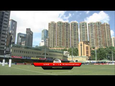 ARFU Asian Sevens Series 2014 - Hong Kong ( Match 39 - UAE v Kazakhstan) Men 11th/12th