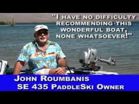 John Roumbanis talks about his SeaEagle.com Paddleski