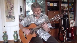Иосиф Бродский - Романс Дон Кихота - Урок игры на гитаре (Валерий Шаров)