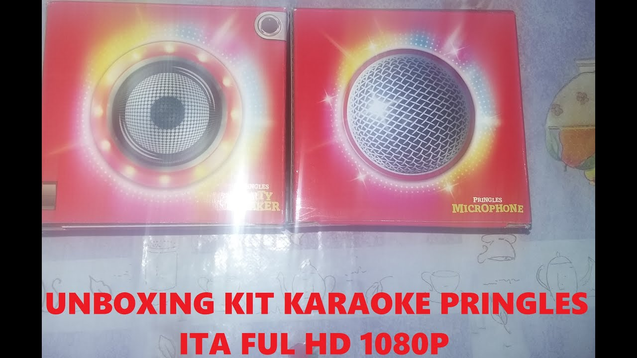 unboxing kit karaoke pringles ita full hd 1080p youtube. Black Bedroom Furniture Sets. Home Design Ideas