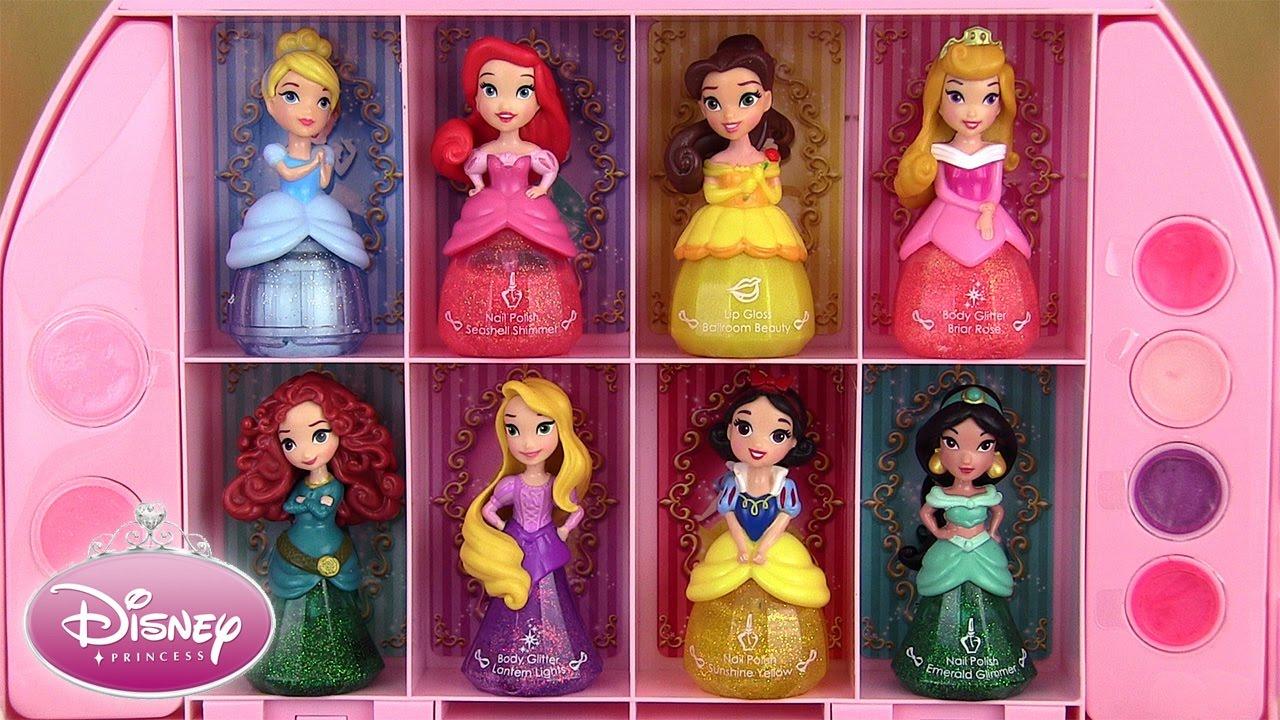 Disney Princess Nail Polish & Makeup Set Little Kingdom Cosmetic ...