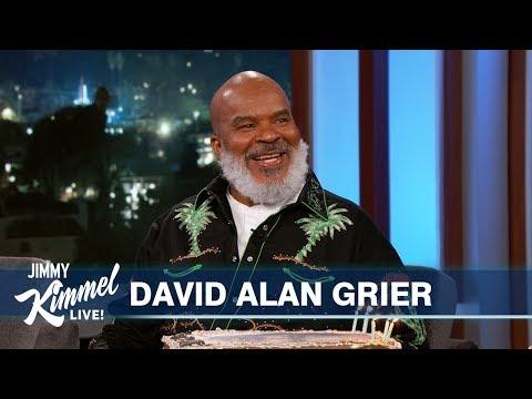 David Alan Grier's 30th Appearance on Kimmel!