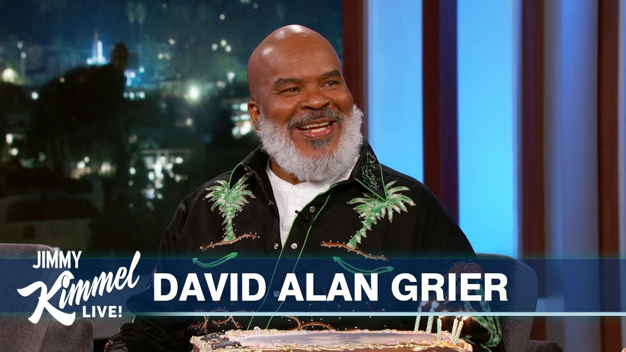 David Alan Grier's 30th Appearance on Kimmel!
