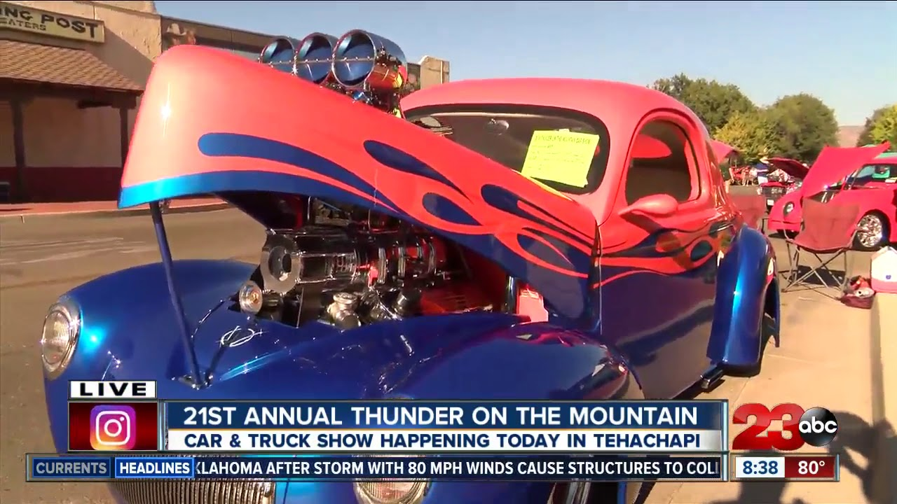 Classic Cars And Trucks Roar Into Tehachapi For Car Show YouTube - Is there a car show near me today