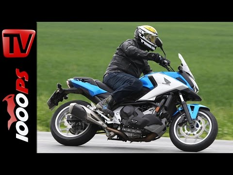 Honda NC750X DCT Test 2016 | Doppelkupplungsgetriebe im Test