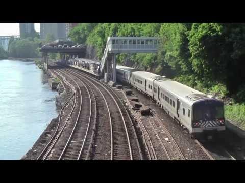 Metro-North Railroad at Marble Hill 2016.6