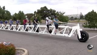 самый длинный велосипед(в данном видео показан большой велосипед., 2016-09-17T07:53:18.000Z)