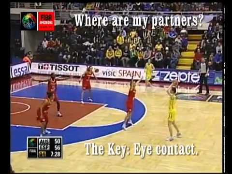 Rotation - Three Person Officiating - FIBA Americas Referee Course - Level 1.flv