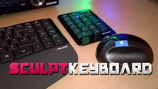 Microsoft Sculpt Ergonomic Desktop Review / Unboxing