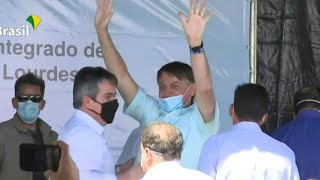 Brazil's Bolsonaro makes his first official trip after virus recovery | AFP