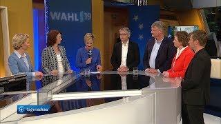 Europawahl in Deutschland Runde der Spitzenkandidaten