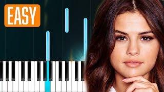 "Download Lagu Selena Gomez - ""Back To You"" 100% EASY PIANO TUTORIAL Mp3"