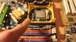 Установка охлаждения центрального процессора CPU часть 1 (теоретическая)