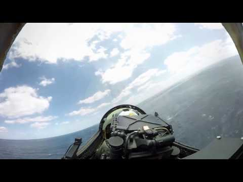 VR launch off an aircraft carrier
