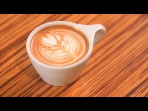 How to Pour a Rosetta | Latte Art