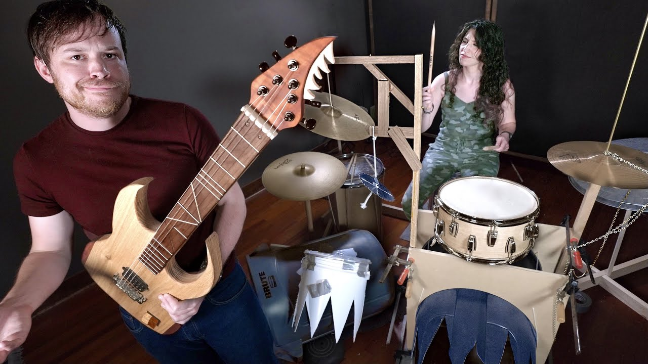 Pro Musicians vs. Broken Instruments