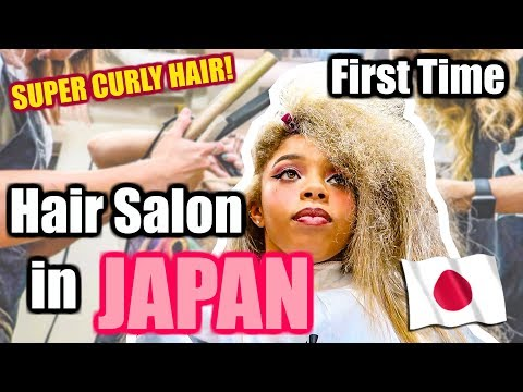 MY EXPERIENCE AT A HAIR SALON IN JAPAN 👍🏽or 👎🏽?
