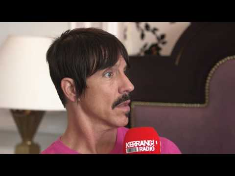Anthony Kiedis of Red Hot Chili Peppers talks to Kerrang! Radio (Pt 1)