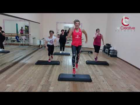 Metabolic interval training step #4 ( fat burner class )