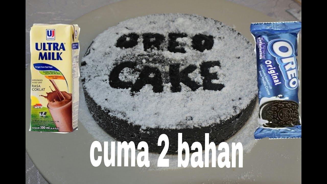 Cara Membuat Oreo Cake Cuma 2 Bahan