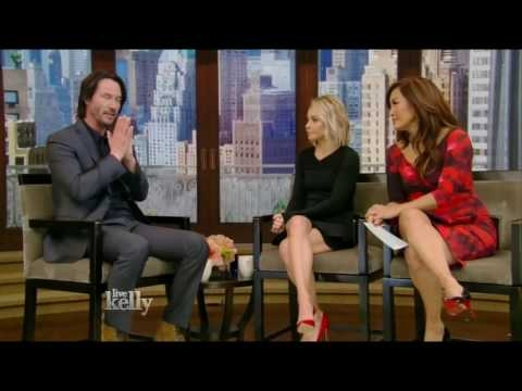 Keanu Reeves, Jeff Perry Interview | Live with Kelly (February 2, 2017) hd