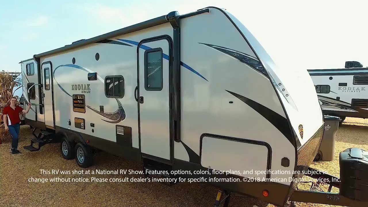 2018 Kodiak Travel Trailers Floor Plans New 2018 Dutchmen Rv Kodiak Ultra Lite 285bhsl Travel
