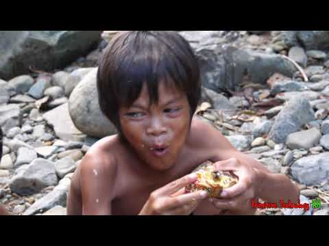 Primitive Technology – Eating delicious – Cacth and cooking big crab