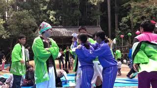 猪篠分団が秋祭りで踊った件(USA)