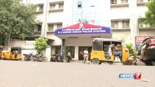 ச ன ன ய ல இர சக கர வ கன த ர ட ட ல ஈட பட ட வந த 2 ப ர க த   news7 tamil