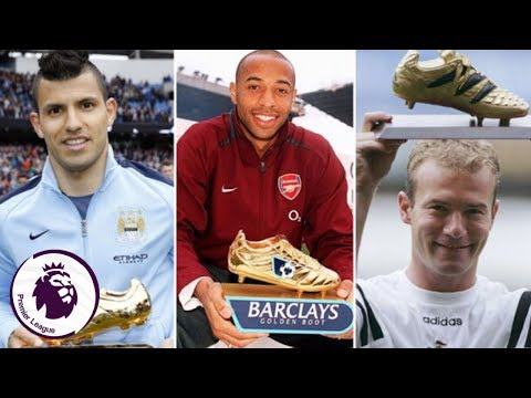 Every Premier League Golden Boot Winner (1992-2017)