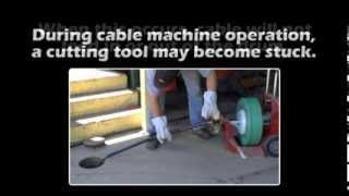 rent roto rooter machine